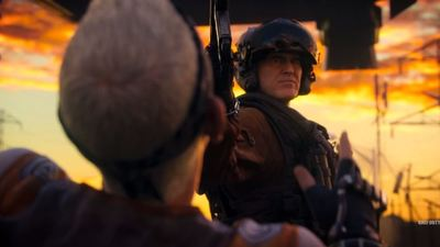 Things get messy in the Call of Duty: Advanced Warfare Carrier trailer