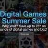 Amazon's Digital Video Game Summer Sale includes deep discounts