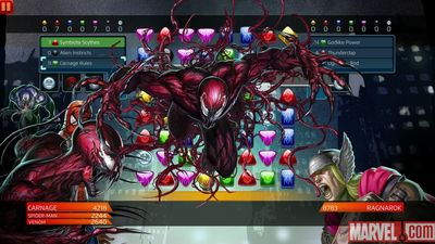 Latest Marvel Puzzle Quest update brings Carnage and a game-breaking bug