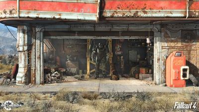 Fallout 4 first screenshot