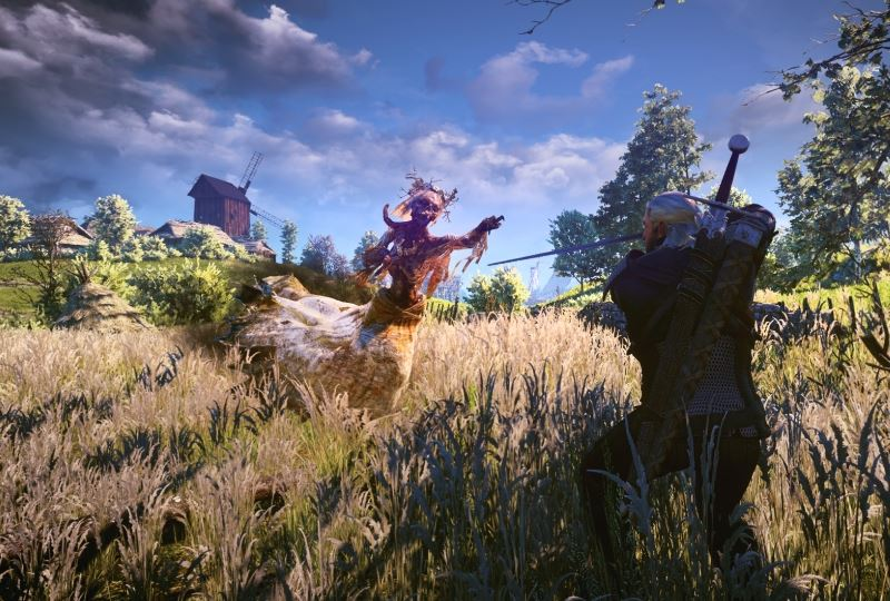 The Witcher 3 Wild Hunt Monster Contract