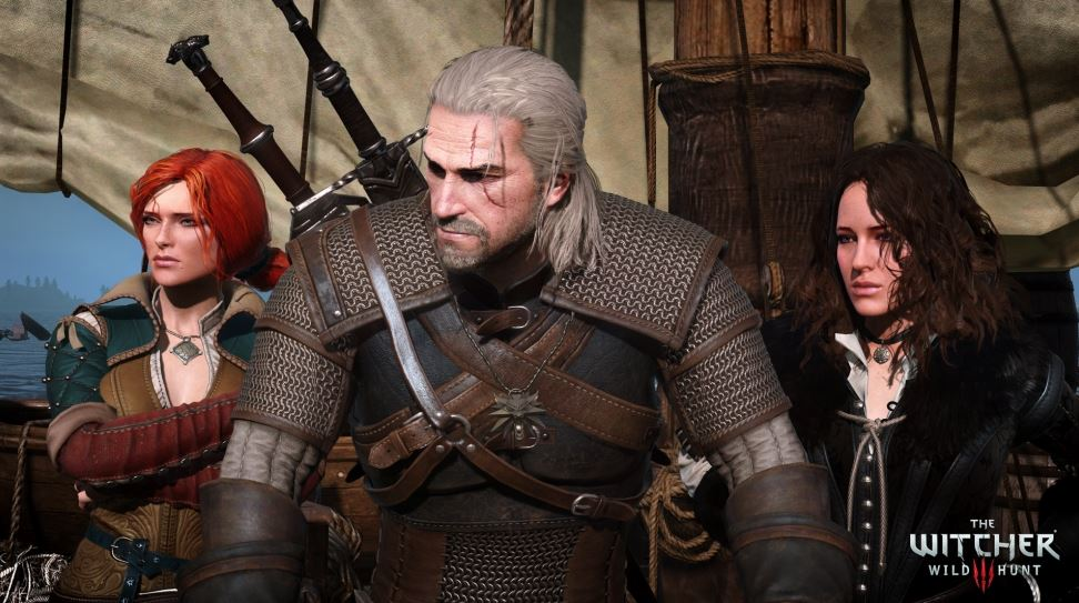 The Witcher 3 Wild Hunt Triss Yennefer and Geralt