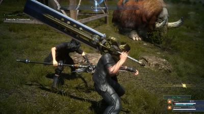 Checking out the new 'It Takes Two' sidequest in Final Fantasy 15 Episode Duscae
