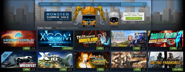 Steam's Monster Summer Sale is live. Here are your Day 1 Deals