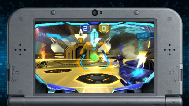 Nintendo reveals Blast Ball, futuristic soccer game for 3DS