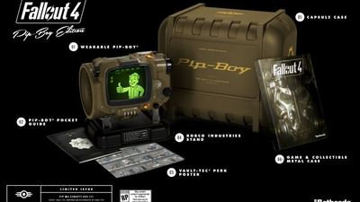 Here's how much Fallout 4: Pip-Boy Edition will cost you