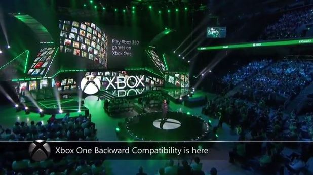 Xbox One is getting backwards compatibility