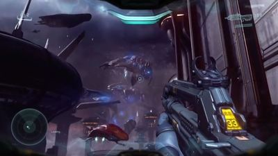Our first look at Halo 5: Guardians campaign gameplay