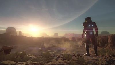 Take your first look at Mass Effect: Andromeda