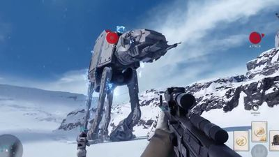 Star Wars Battlefront gameplay reveal doesn't disappoint