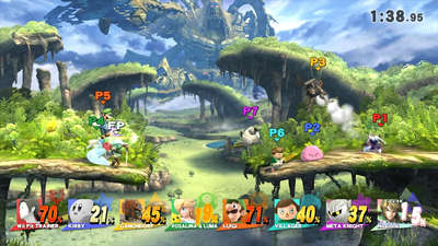Play Super Smash Bros. Wii U using the 3DS with the Smash Controller app