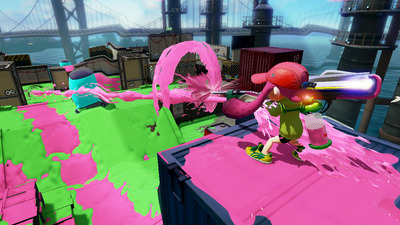 Splatoon adds Custom E-liter 3K and L-3 Nozzlenose as new DLC weapons