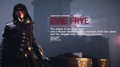 A closer look at Assassin's Creed Syndicate's female protagonist Evie Frye