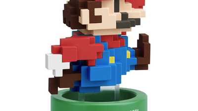 Nintendo releasing two pixel-style amiibo for Mario's 30th anniversary