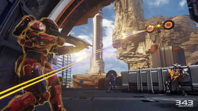 New screenshots of Halo 5: Guardians' Warzone multiplayer mode