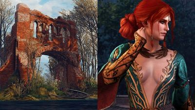 The Witcher 3's Wolf School Gear Scavenger Hunt, new Triss costume now available