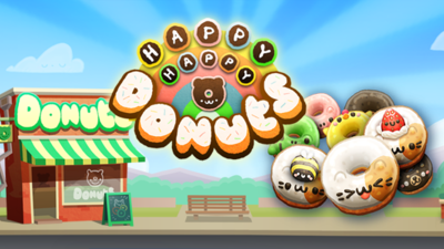 Happy Happy Donuts boasts unique gameplay, cutesy animals for delectable match-three recipe
