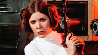 Our first (unofficial) look at Carrie Fisher in Star Wars: The Force Awakens