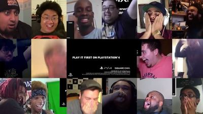 Here's a mashup video of Final Fantasy 7 remake reactions
