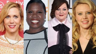 First images from all-female Ghostbusters film set
