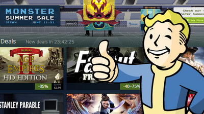 Steam Summer Sale Day 9 discounts: Fallout, Assassin's Creed, and more