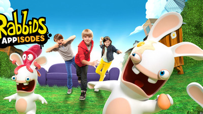 Rabbids Appisodes turns Rabbids Invasion show into an interactive experience