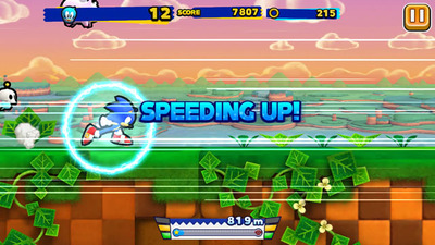 First volume of Sonic Runners' soundtrack now available on iTunes