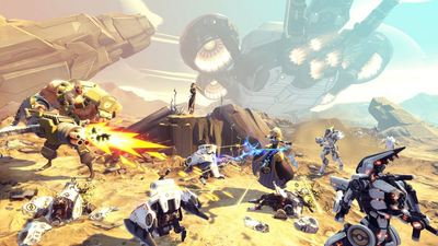 Here's a 20 minute look at Battleborn gameplay from E3 2015