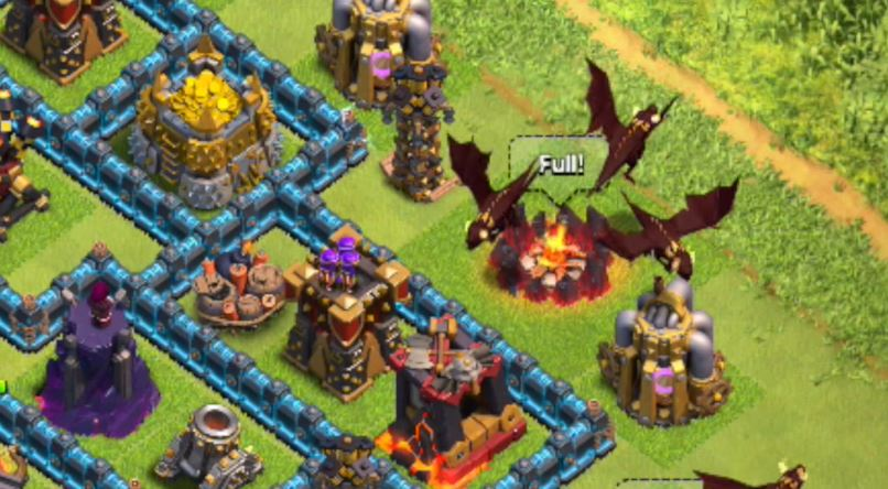 level 5 dragons clash of clans pics download