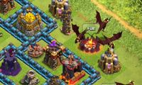 Article_list_clash_of_clans_level_5_dragon_gameplay