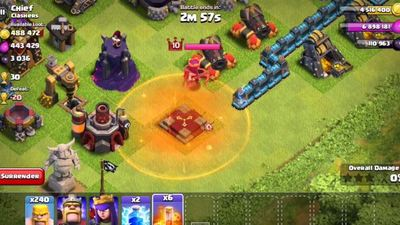 Check out the new Clash of Clans Poison Spell in action