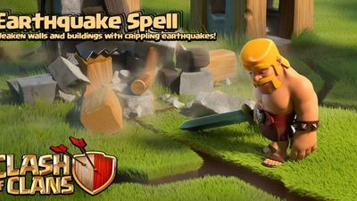Clash of Clans update Sneak Peek #4: Earthquake Spell