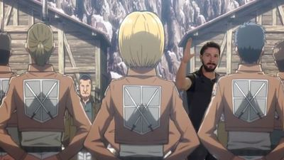 Shia Labeouf invades Dragonball Z, Attack on Titan and more in video mash up