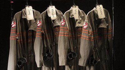 Our first look at the new Ghostbusters uniforms and proton pack
