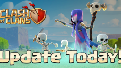Clash of Clans 'Dark Spell Factory' update released. Full patch notes here