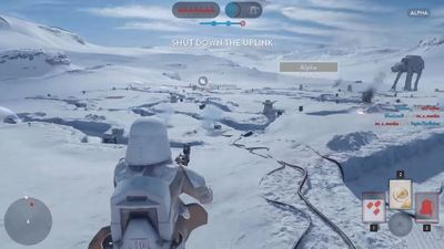 Tease yourself with five minutes of Star Wars Battlefront Alpha gameplay