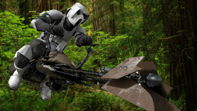 "US Army want ""Star Wars"" speeder bikes"