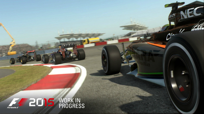 Here's the brand new F1 2015 trailer