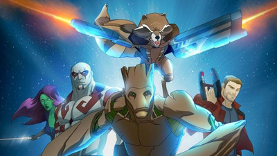 Guardians of the Galaxy animated series official premiere date announced