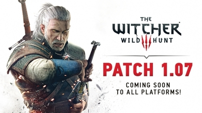The Witcher 3 patch 1.07 to address inventory, Geralt movement speed, and more