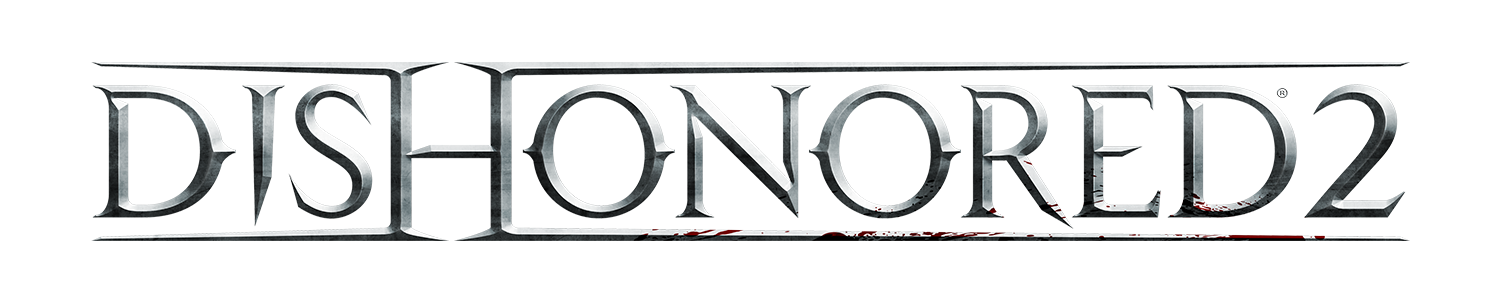 dishonored 2 logo and screen shots revealed