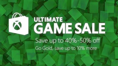 Microsoft's Xbox Ultimate Game Sale has begun