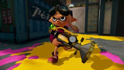 Two new Splatoon weapons fresh from the Squid Research Lab