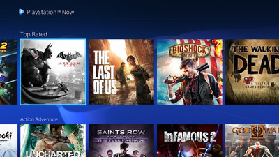 PlayStation Now gets redesign, 6 new games for July