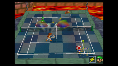 Mario Tennis' courts open on Wii U Virtual Console tomorrow