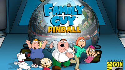 Family Guy pinball is coming soon