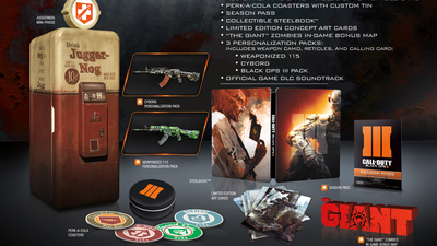 Call of Duty: Black Ops 3 Collector's Edition contents leaked