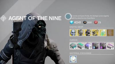 Destiny: Xur, Agent of the Nine, Tower location and exotic items (7/10/15)