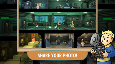 Fallout Shelter's first update brings new Photo feature