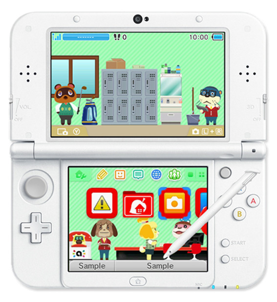 Animal Crossing: Happy Home Designer 3DS Theme
